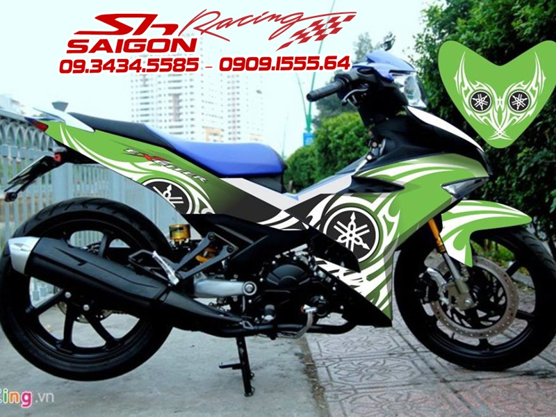 EXCITER 135-150 - HONDA WINNER 150 ĐỘ DECAL
