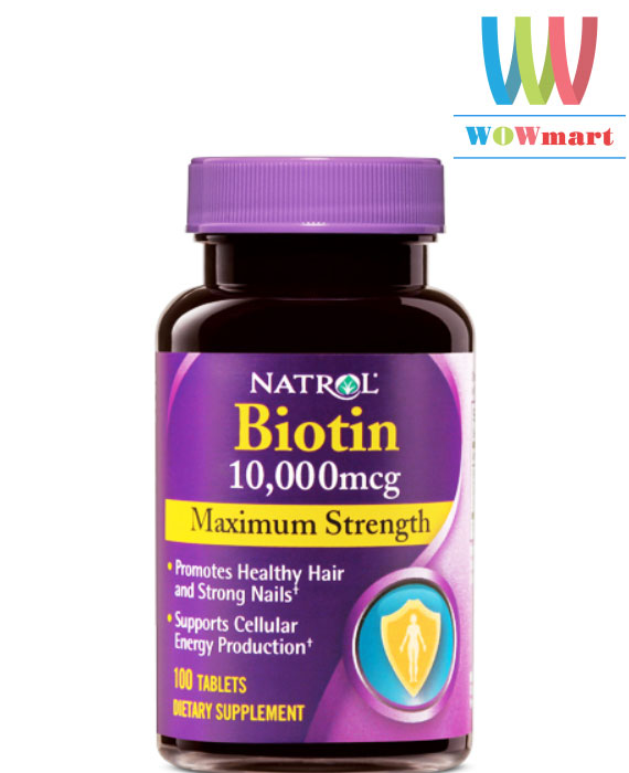 Natrol-Biotin-10000mcg-Maximum-Strength-100v