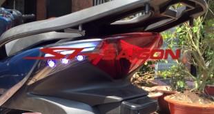 lên đèn sau đuôi thái ý ẹ nhập trung quốc bình minh chợ lớn scooter