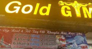phòng tập Gold Gym quận 10