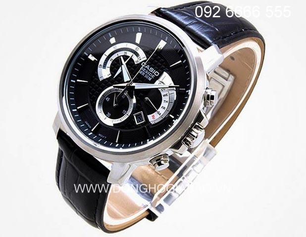 CASIO BEM 506L 1A 3 Đồng hồ Casio BEM 506L 1A phong cách thể thao dành cho phái mạnh