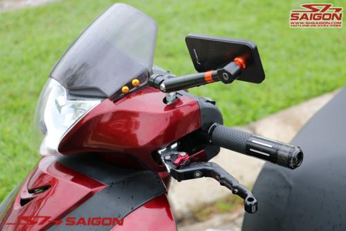 Shop đồ chơi trang trí xe máy 2banh scooter tân trang xe sh việt nam sơn sporty bao tayRizoma tay thắng bikers kính hậu Rizoma trang trí sh italia 2015 2016