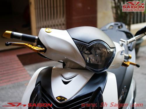 Shop đồ chơi trang trí xe máy 2banh scooter tân trang xe sh việt nam sơn sporty bao taydomino tay thắng Rizoma kính hậu Rizoma trang trí sh italia 2015 2016
