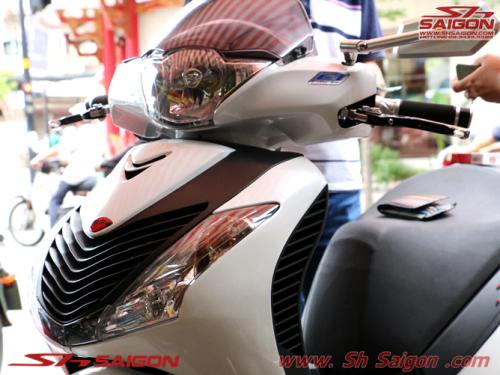 nơi bán đồ chơi trang trí xe máy 2banh scooter sơn sửa xe sh việt nam sơn sporty bao tayRizoma tay thắng Rizoma kính hậu Rizoma trang trí sh italia 2015 2016