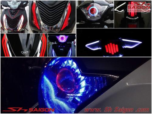 Shop đồ chơi trang trí xe máy 2banh scooter sơn sửa xe sh việt nam sơn sporty bao tayRizoma tay thắng Rizoma kính hậu Rizoma trang trí sh italia 2015 2016