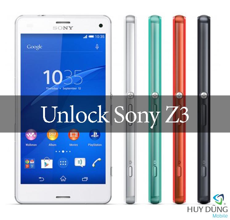 Dịch vụ unlock điện thoại Sony Xperia Z3 Docomo SO-01G bằng code