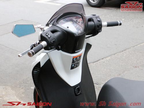 cửa hàng đồ chơi trang trí xe máy 2banh scooter tân trang xe sh việt nam sơn sporty bao tayRizoma tay thắng Rizoma kính hậu koso trang trí sh italia 2015 2016