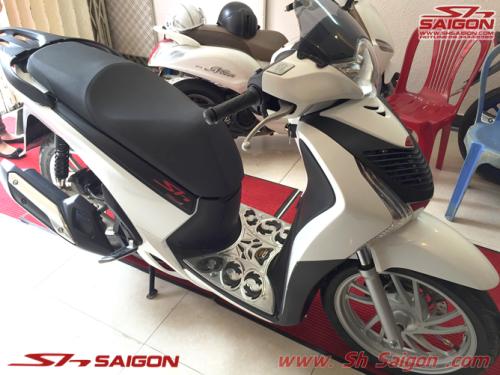 nơi bán đồ chơi trang trí xe máy 2banh scooter độ đẹp xe sh việt nam sơn sporty bao taybaracuda tay thắng Rizoma kính hậu elise trang trí sh italia 2015 2016